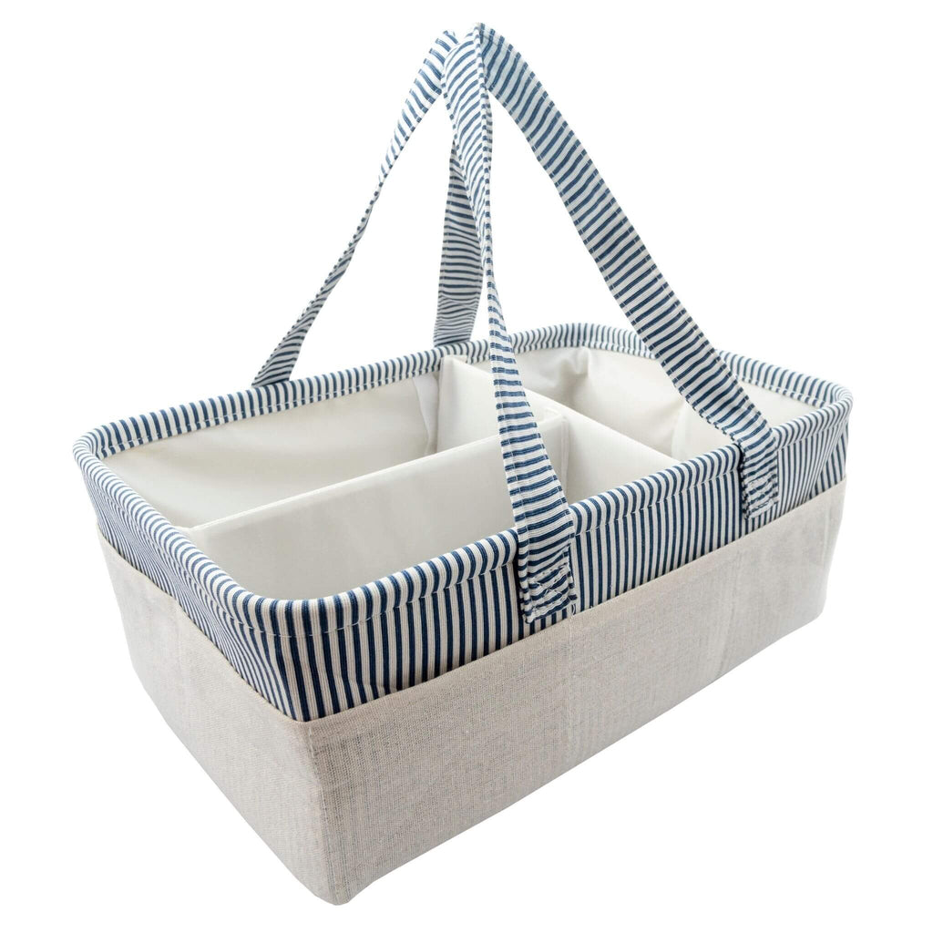diaper caddy blue from we care vida