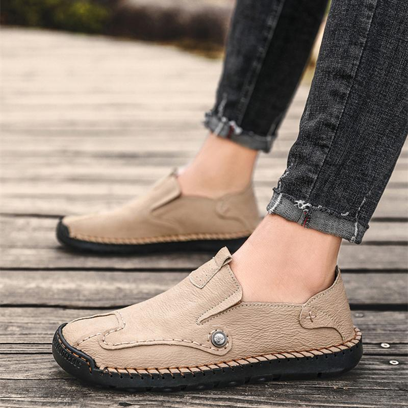 Leather High Quality Comfortable Breathable Flats