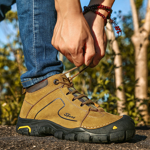 Men's Anti Abrasion Lower Ankle Hiking Boots