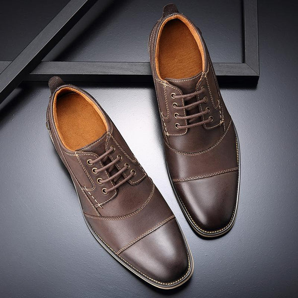 Men's Genuine Leather Dress Shoes