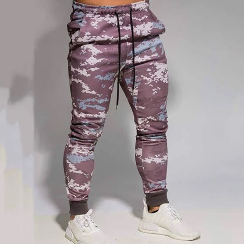 Fashion Printed Casual Trousers