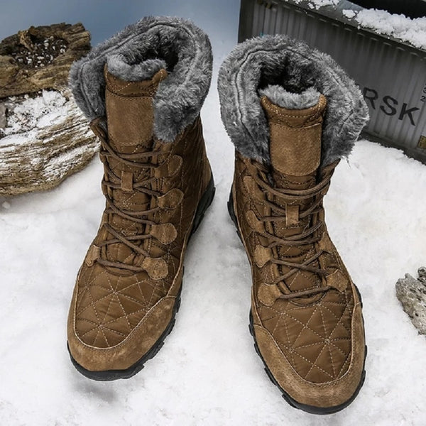 Men's Spuer Hit Plush Winter Snow Boots