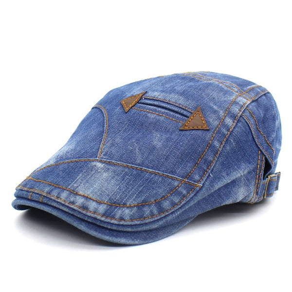 Casual Washed Denim Cap