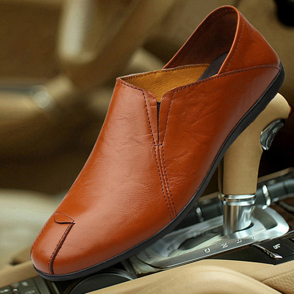Soft Casual Round Toe Loafer Shoes