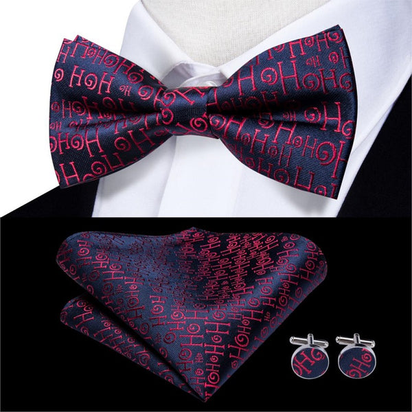 Fashion Silk Cloth Bow Tie Scarf  Suit