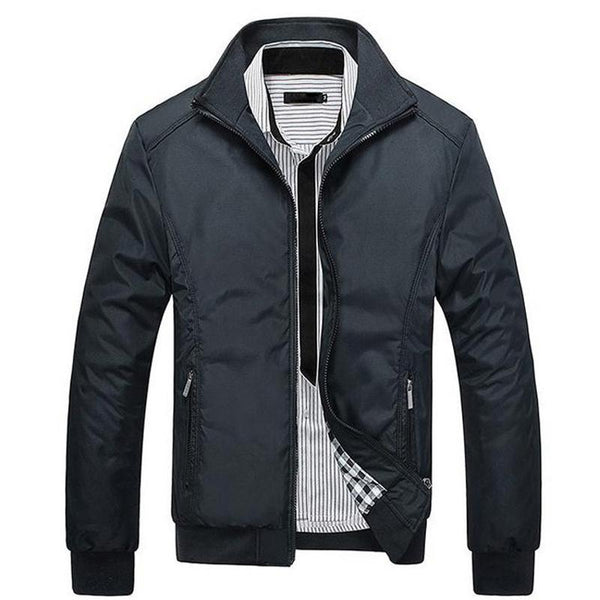 Men's Clothes-New Casual High Quality  Regular Slim Jacket