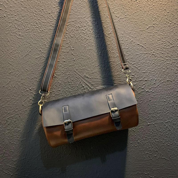 Large Capacity Travel Leather Crossbody Bag