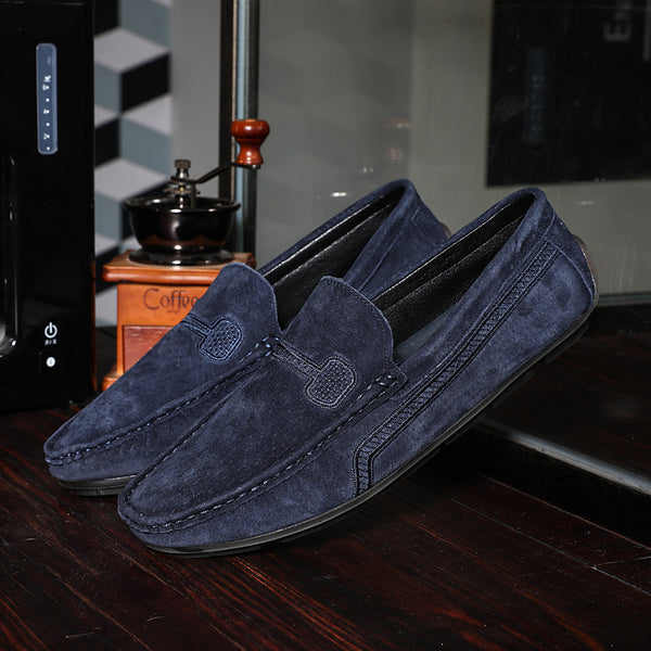 Solid Casual British Men's Driving loafers
