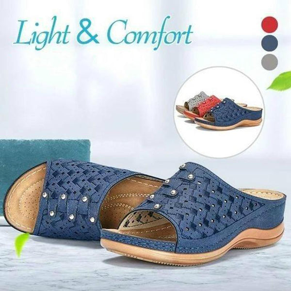 Women Soft Insole Peep-toe Sandals