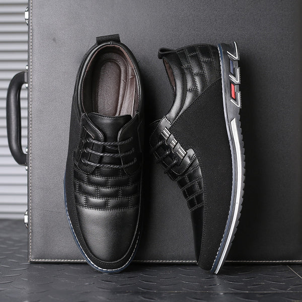 Lace-up Flat Heel Casual Men's Shoes