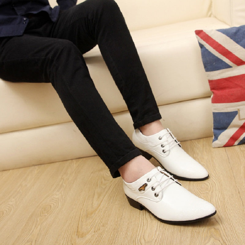 Fashionable Men's Casual Pointed Shoes