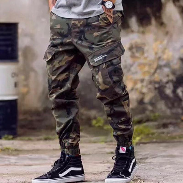 Men Fashion Jeans Jogger Pants