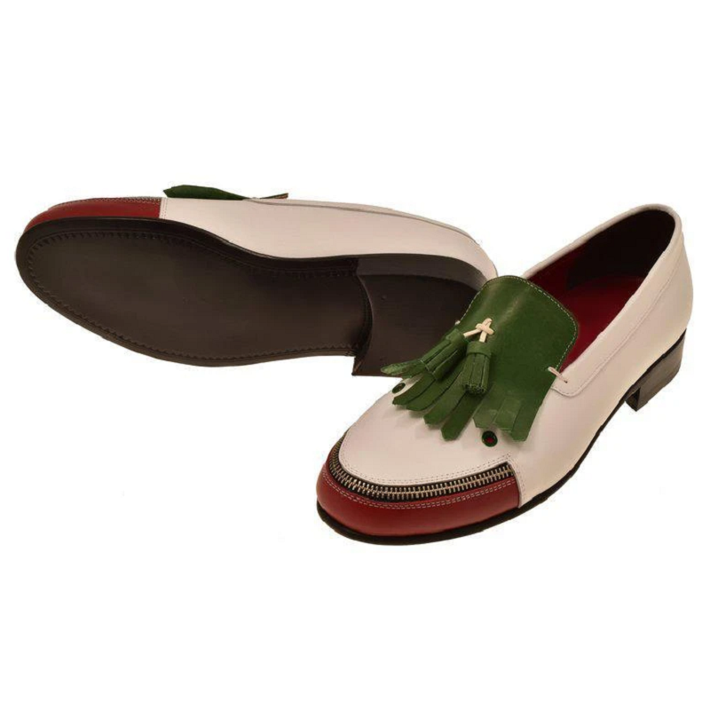 Vintage Classic Stitching Leather loafers