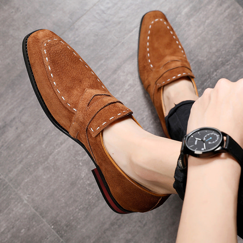 British Style Men Business Casual Loafers