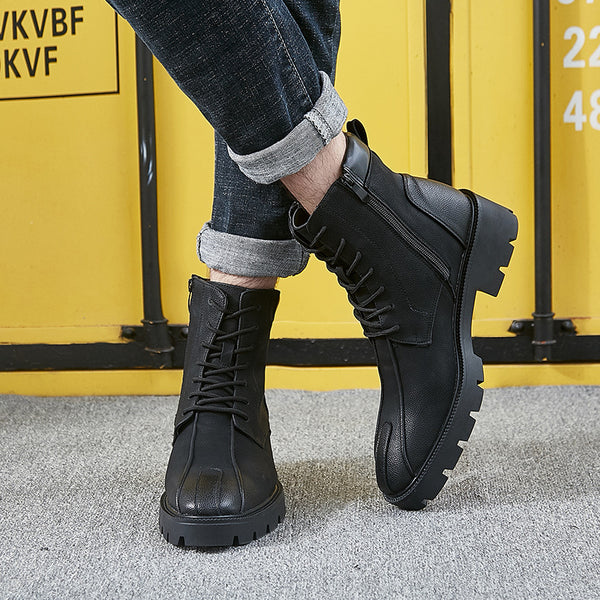 Solid Fashion Non-slip Ankle Boots