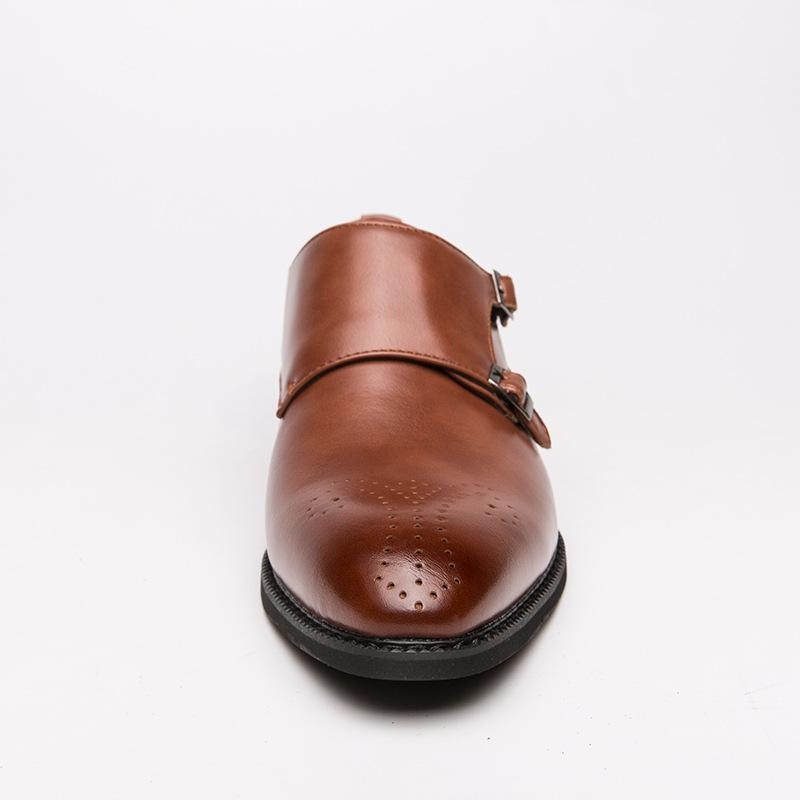 Vintage British Style Business Leather Shoes