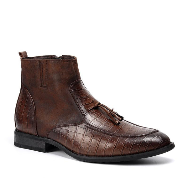 Top Quality Handsome Comfortable Leather Boots