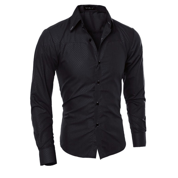 Business Casual Slim Fit Stylish Printed Shirts