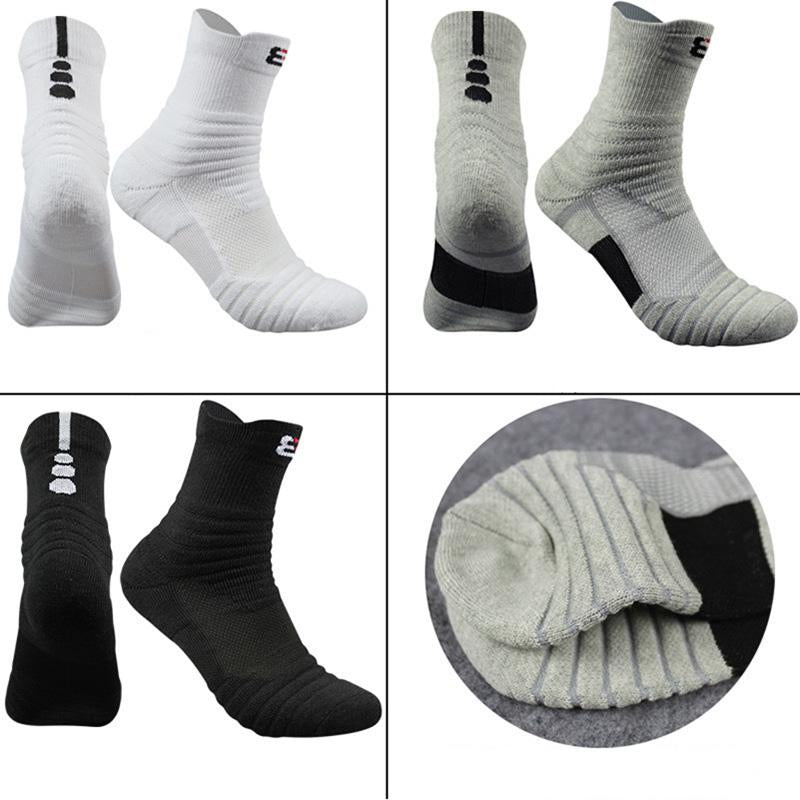 3 Pairs High Quality Men Socks Thick Mens Socks Thermal Towel Bottom Socks