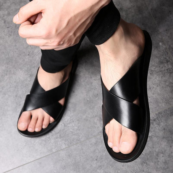 Men's Luxury Slippers Outdoor Beach Slippers