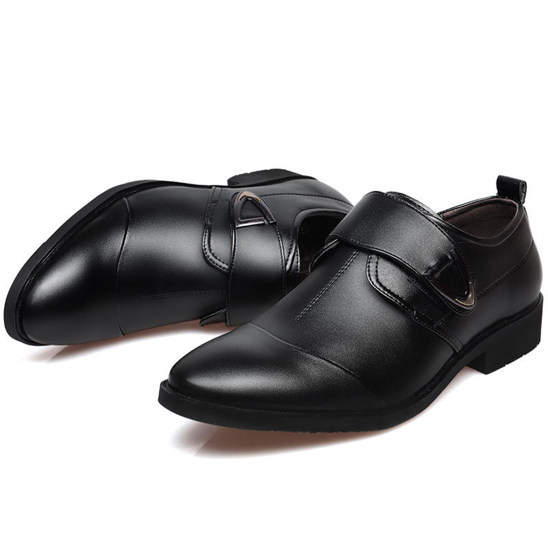 Fashion Casual Pointed Men's Leather Shoes