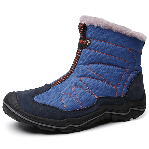 Men's Plush Warm Outdoor Climbing High Ankle Boots
