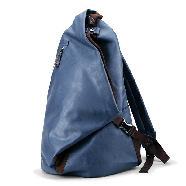 Leather Cafe Racer Riding Bag