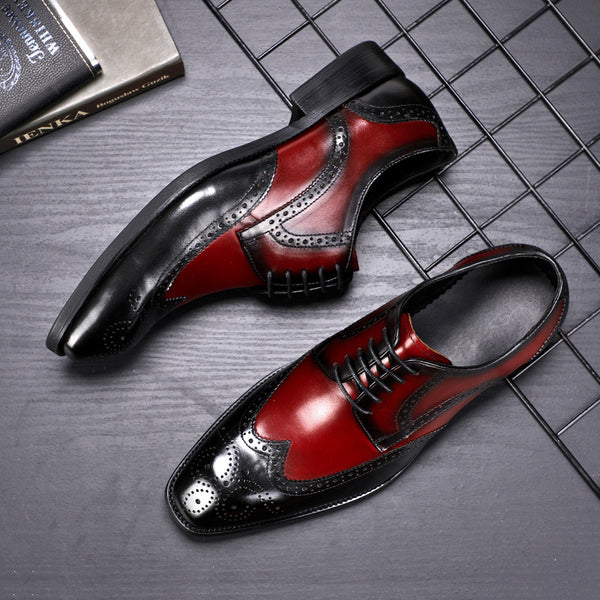 Men's Block Style Oxford Shoes