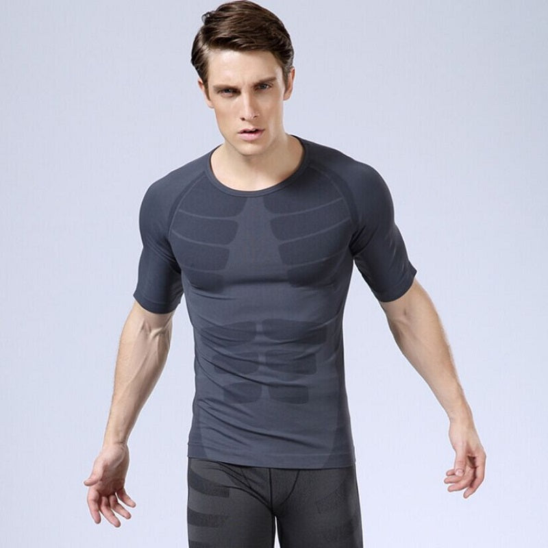 Slim Short-sleeved Sports Underwear