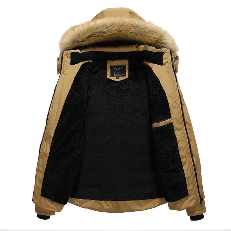 Solid Color Casual Plus Size Hooded Coat