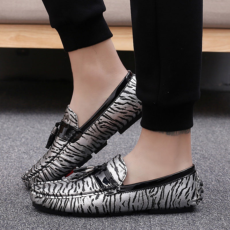 Leopard Print Slip on Casual loafers