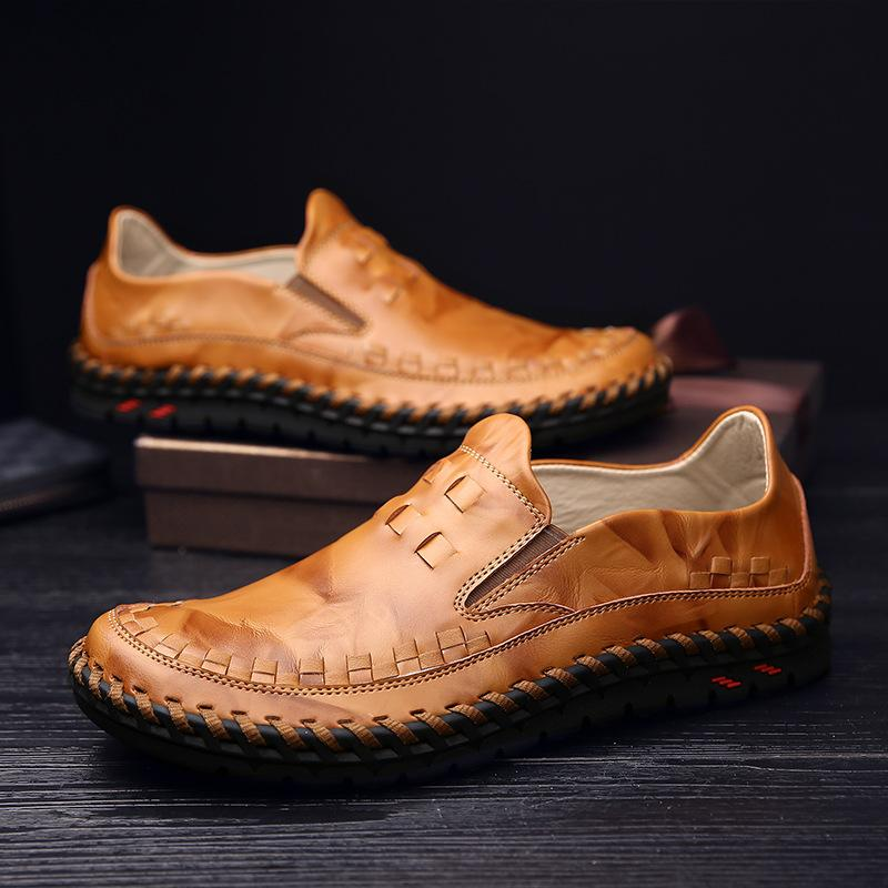 New Soft Bottom Handmade Casual Leather Shoes