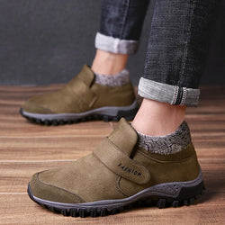 Suede Leather Winter Warm Casual Ankle Boots