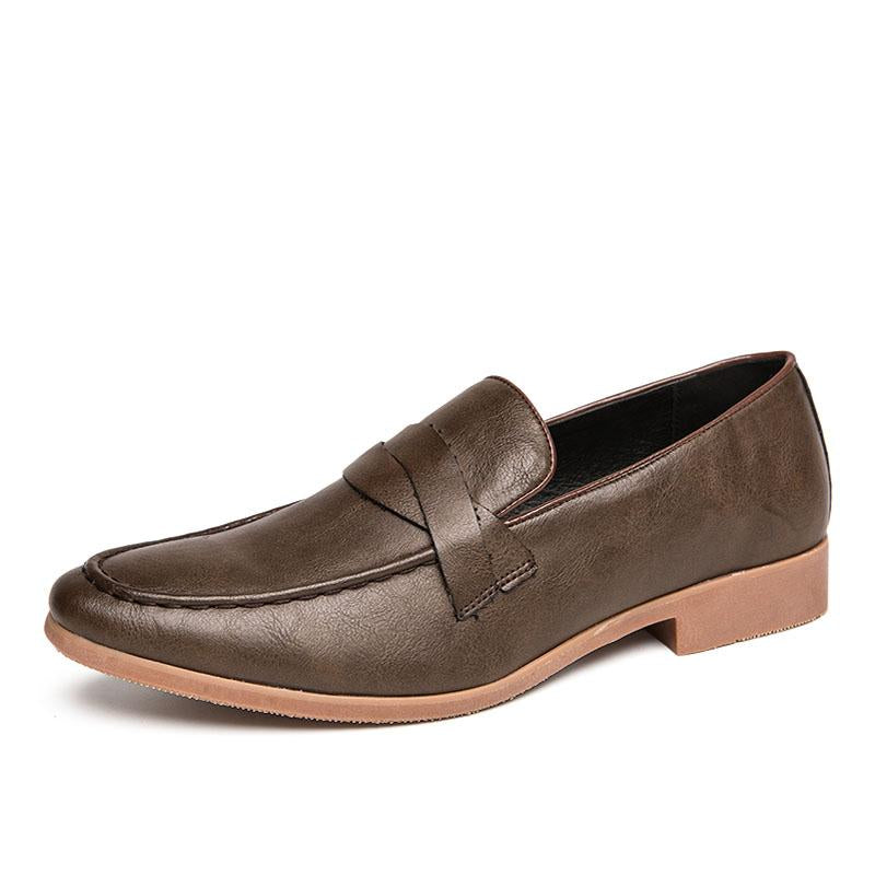 Italian Fashion Casual Dress Leather Shoes