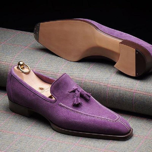 Men's Italy Trendy Handmade Tassel Loafers