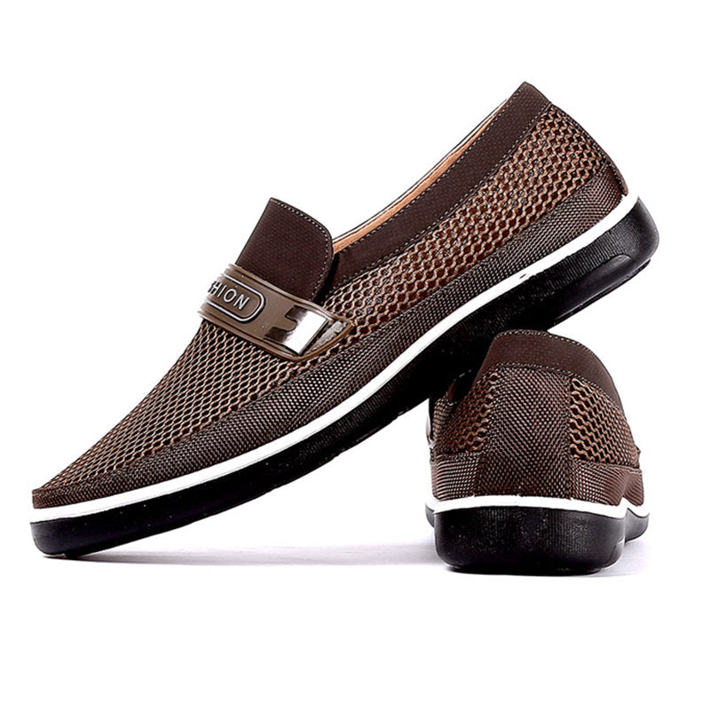 Breathable Abrasion-resistant Soft Sole Slip on Casual Shoes