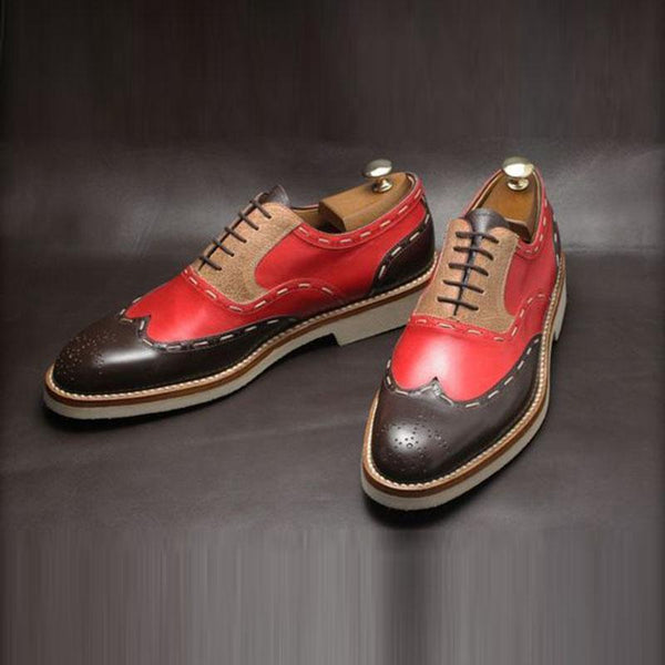 Vintage Handmade Brogue Formal Shoes
