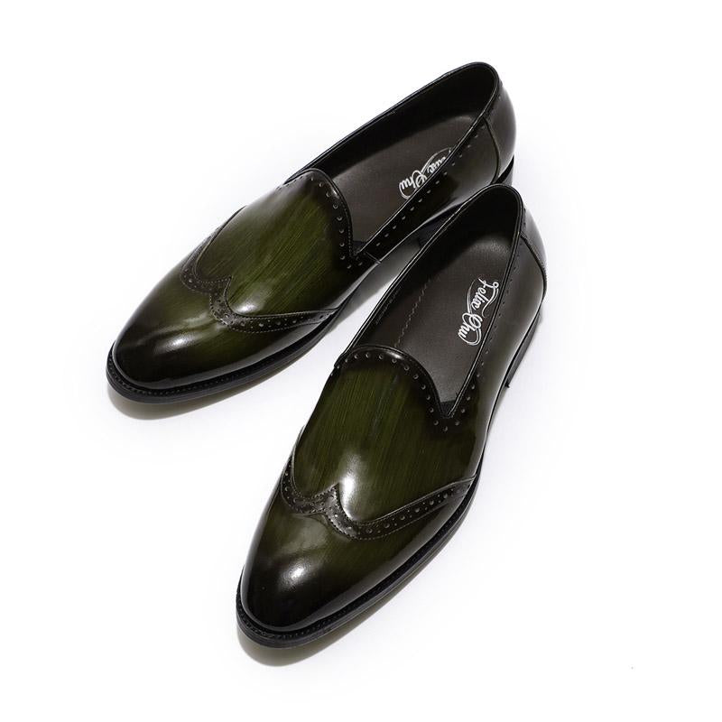 Men's Soft-sole Patent Leather Formal Shoes