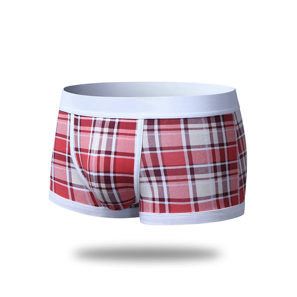 Fashion Cotton Soft Wide Belt Boxer Panties