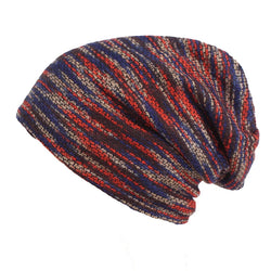Leisure Knitted Soft Warm Plush Lining Beanie Hat