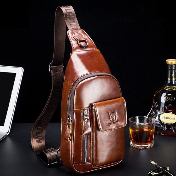 Fashionable Leather Crossbody Bag