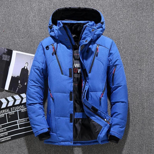 Short Outdoor Sports Thickening Warm Jackets