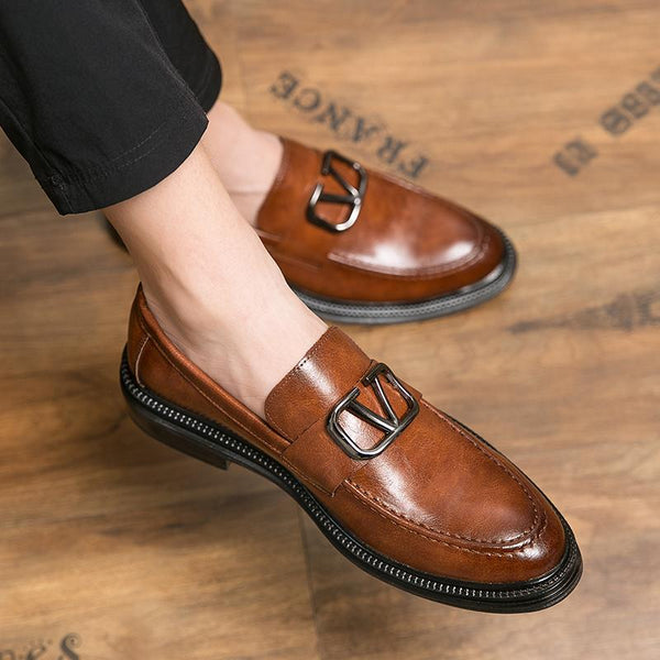 Men Fashion Casual Business Dress Shoes Wedding Shoes