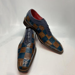 Men's Handmade Leather Lace Up Dress Shoes