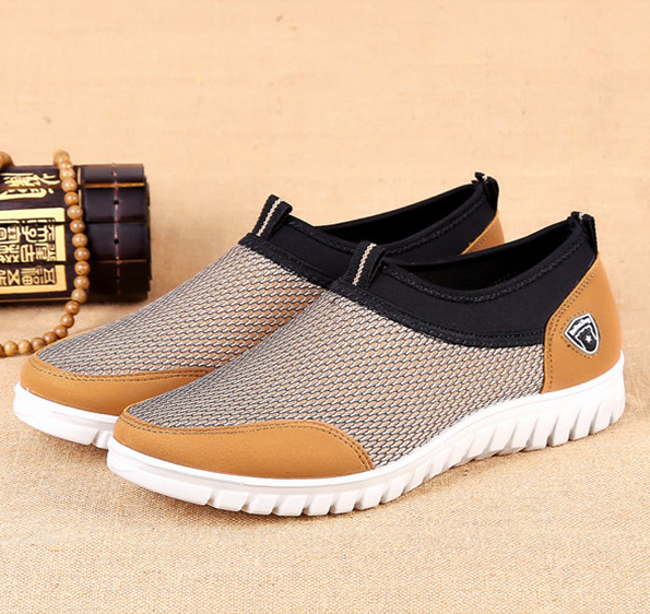 Men's Mesh Breathable Comfortable Slip on Shoes