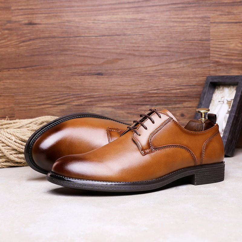 Elegant Laced Business Casual Shoes