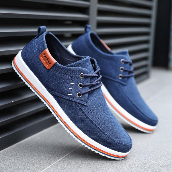 Summer Trend Casual Flat Canvas Shoes