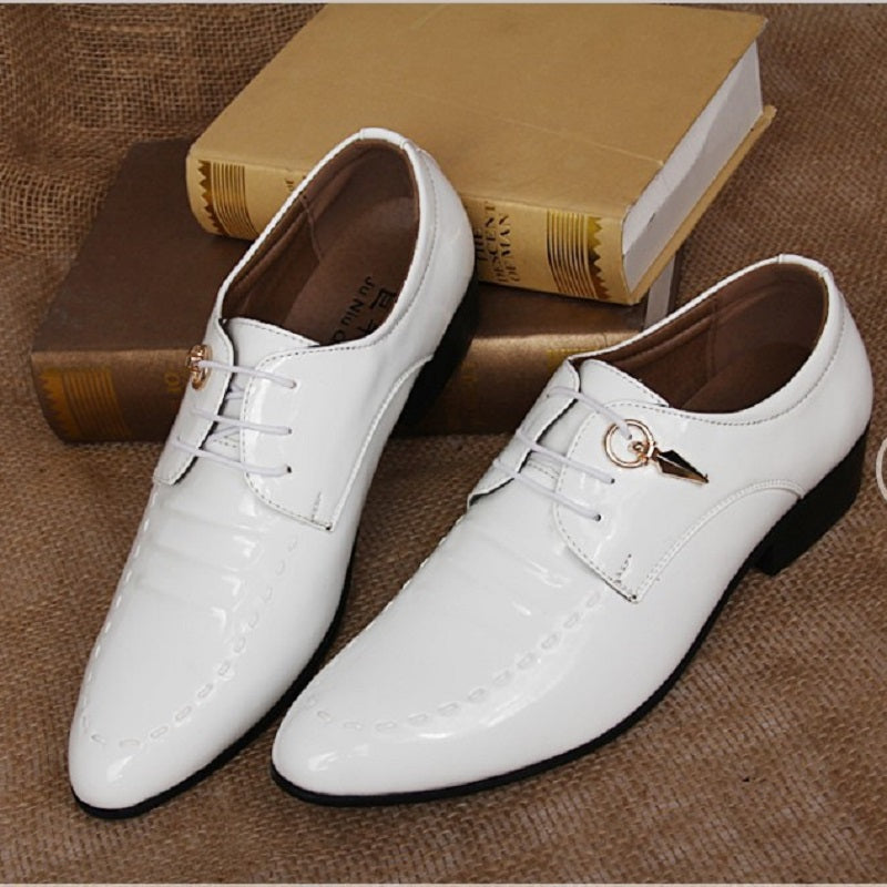 Pointed Fashion Solid Color Men's Shoes