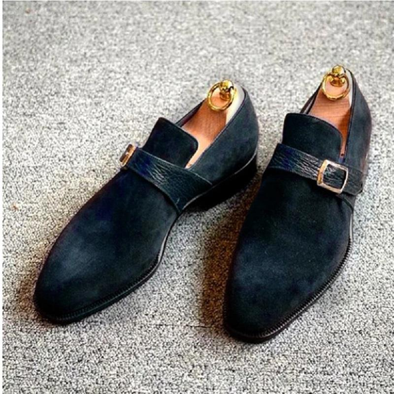 New Korean Style Buckle Dress Shoes