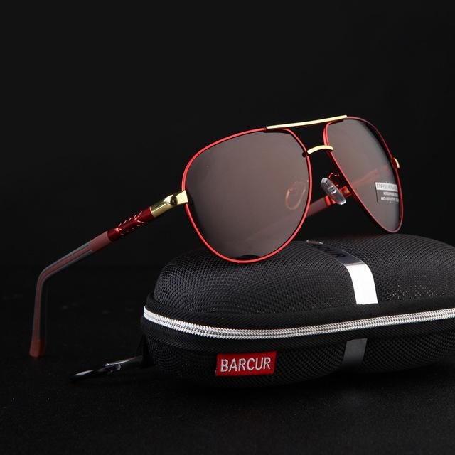 Aluminum Magnesium Men's Polarized Coating Sunglasses